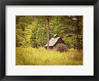 Framed Country Barn 1 Vintage