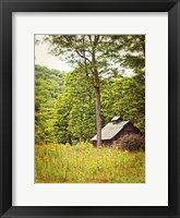 Framed Country Barn 2 Vertical Vintage
