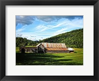 Framed Country Barn 3