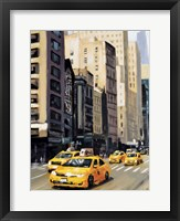 Framed New York Taxi 1
