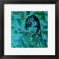 Framed Revolver Greens