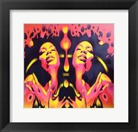 Framed Afro Summer