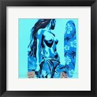 Framed Tiki Surf