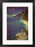 Framed Vintage Hualien Coast, Taiwan, Asia
