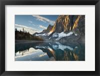 Framed Floe Lake Reflection III