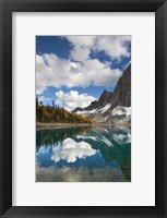 Framed Floe Lake Reflection I