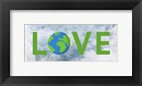 Framed Love Earth