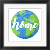 Framed Earth Is Our Home