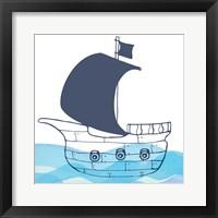 Framed Sailing Along