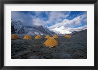 Framed Pethang Ringmo and Mt Everest