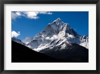 Framed Peak of Ama Dablam Mountain, Nepal