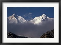 Framed Makalu From the Kangshung, Tibet