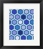 Framed Cool Blue 3