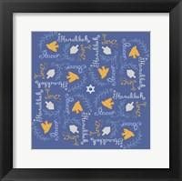 Framed Hanukkah 4