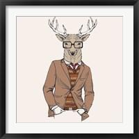 Framed Deer-man 1