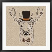 Framed Deer-man 2