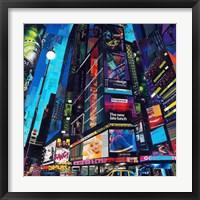 Framed City Night