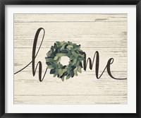 Framed Home Wreath