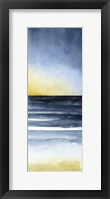 Framed Layered Sunset Triptych III