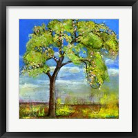 Framed Spring Tree