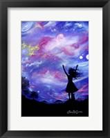 Framed Cosmic Celebration