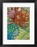 Framed Ginger Goddess