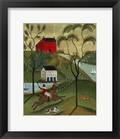 Framed Ocean Fox Hunt