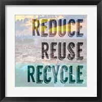 Framed Reduce Reuse Recycle II