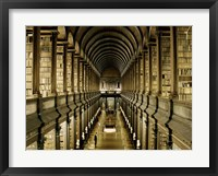 Framed Interior of the Library, Trinity College, Dublin