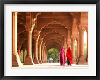 Framed Women in Traditional Dress, India