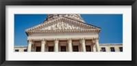 Framed Government building, Mississippi State Capitol, Jackson, Mississippi