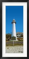 Framed Biloxi Lighthouse, Biloxi, Mississippi