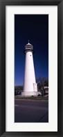 Framed Lighthouse at the roadside, Biloxi Lighthouse, Biloxi, Mississippi
