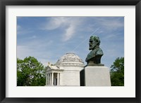 Framed Mississippi, Vicksburg, Bust of Brigadier General John E Smith