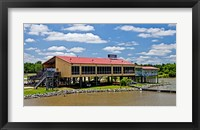 Framed Local Restaurant in Columbus, Tombigbee Waterway, Mississippi