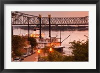 Framed Mississippi, Natchez Under the Hill, Isle of Capri