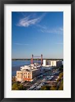 Framed Ameristar Casino, Mississippi River, Mississippi