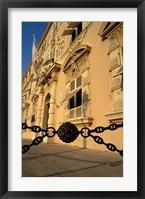 Framed Caserne, Place du Palais, Monte Carlo, Monaco
