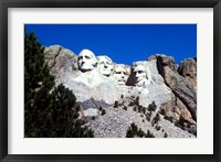 Framed Mt Rushmore Presidents, South Dakota