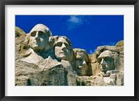 Framed Mount Rushmore in South Dakota
