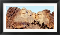 Framed View of Mount Rushmore, South Dakota
