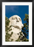 Framed Mount Rushmore, Black Hills, South Dakota