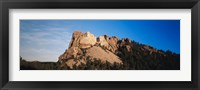 Framed View of Mount Rushmore National Memorial, Keystone, South Dakota