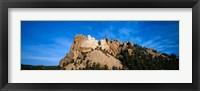 Framed Mt Rushmore National Monument and Black Hills, Keystone, South Dakota