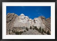 Framed Mount Rushmore National Memorial, South Dakota