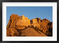 Framed USA, South Dakota, Black Hills, Mount Rushmore National Memorial