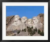 Framed Mount Rushmore National Monument, South Dakota