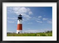 Framed Sankaty lighthouse, Nantucket