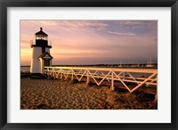 Framed Massachusetts, Nantucket Island, Brant Point
