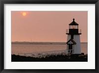 Framed Brant Point lighthouse, Nantucket